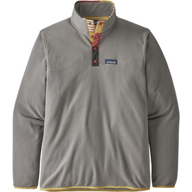 Patagonia Micro D Snap-T Pullover Heren, feather grey